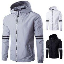 Blueforce - Striped Hooded Jacket