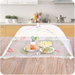 Good Living - Lace Trim Mesh Umbrella Food Cover