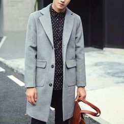 Streetstar - Notched Lapel Coat