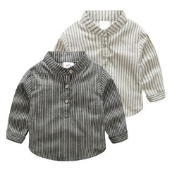 Seashells Kids - Kids Striped Shirt
