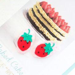 LUSCI - 草莓髮夾