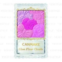 Canmake - Glow Fleur Cheeks (#08 Fuchsia Berry Fleur)