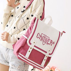 Canvas Love - Flap Canvas Backpack
