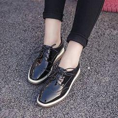 Monde - 厚底牛津鞋
