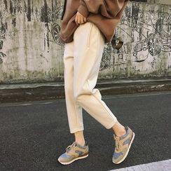 Zzang Girls - Cropped Harem Pants