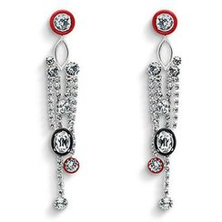 maxine - Rhinestone Earrings