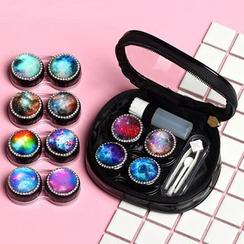 Lens Kingdom - Galaxy Contact Lens Case