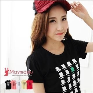 Maymaylu Dreams - Hats-Print T-Shirt