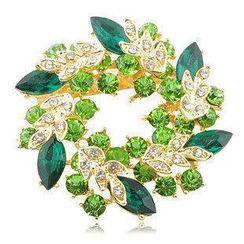 Best Jewellery - Jewel Wreath Brooch