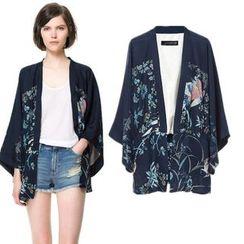 Sunny Doll - Printed Kimono Jacket