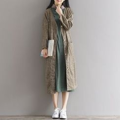 Ebbie - Plain Long Jacket