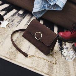 薇薇 - 链条带绗缝斜挎包