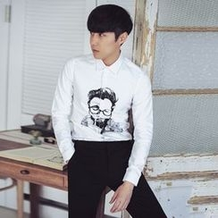 MRCYC - Long-Sleeve Printed Shirt