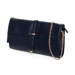 59 Seconds - Faux Woven Convertible Shoulder Bag