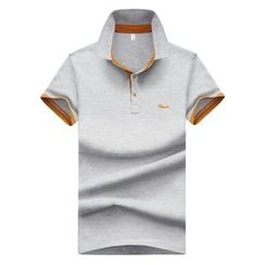 Bingham - Contrast Trim Short-Sleeve Polo Shirt