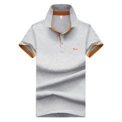 Bingham - 配色边短袖马球衫