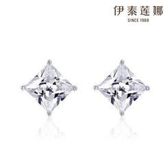 Italina - Sterling Silver Swarovski Elements Crystal Ear Studs