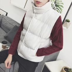MEING - Padded Buttoned Vest