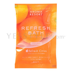 Kracie - Aroma Resort Relaxing Bath Salt (Refresh Citrus)