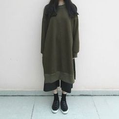 Bloombloom - Long Slit Sweatshirt