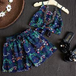 mina diva - Kids Set: Printed Camisole + Shorts