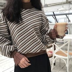 Anlay - Turtleneck Striped Top