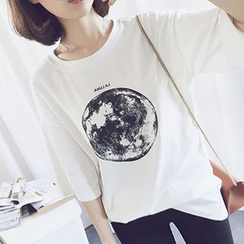 Cloud Nine - Earth Print T-Shirt