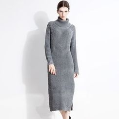 Halona - Turtleneck Sweater Dress
