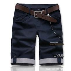 Consto - Cuff-hem Shorts