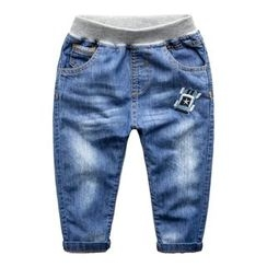Kido - Kids Embroidered Jeans