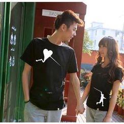 Love Affairs - Print Couple T-Shirt