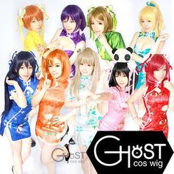 Ghost Cos Wigs - LoveLive! Cheongsam Cosplay Costume