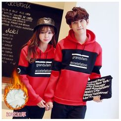 Azure - Matching Couple Lettering Hoodie