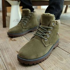 HANO - Fleece-lined Short Boots