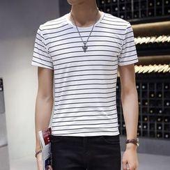NINETTE - Short-Sleeve Striped T-Shirt