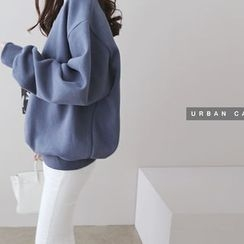 DAILY LOOK - Round-Neck Pullover