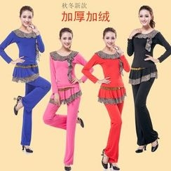 Dancing Queen - Dance Set: Long Sleeve Top + Pants