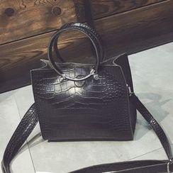 Nautilus Bags - Faux Leather Shoulder Bag