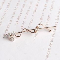 Hush Hush - Rhinestone Hair Pin