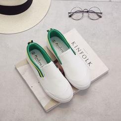 EUNICE - 懒人帆布鞋