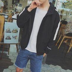 子俊 - 双色连帽夹克