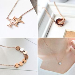 MOMENT OF LOVE - Metal Necklace