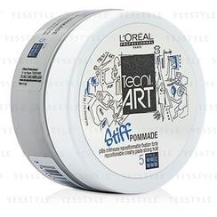 L'Oreal - Professionnel Tecni.Art Stiff Pommade Repostionable Creamy Paste (Strong Hold - Force 5)