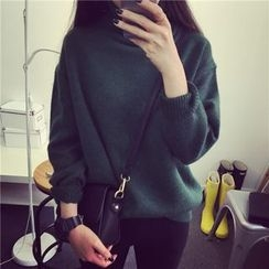 EFO - Long-Sleeve Loose-Fit Knit Top