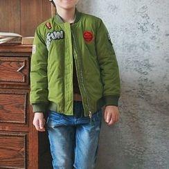memene - Kids Applique Jacket