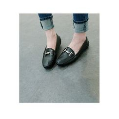 ATTYSTORY - Metal-Trim Loafers
