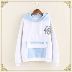 Fairyland - Cartoon Print Hoodie