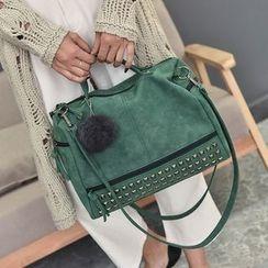 Nautilus Bags - Studded Boston Bag