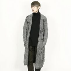Remember Click - Wool-Blend Long Cardigan