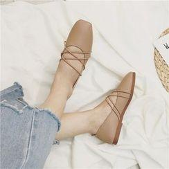 Laceuplux - 复古乐福鞋